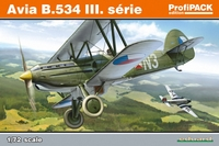 Eduard Kit 1:72 ProfiPack - Avia B.534 III. Serie (Plastic Model Kit) - Cover