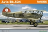 Eduard Kit 1:72 Profipack - Avia Bk-534 (Plastic Model Kit)