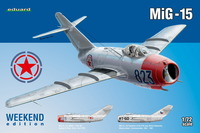 Eduard Kit 1:72 Weekend - MiG-15 (Plastic Model Kit) - Cover
