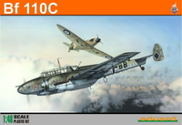 Eduard Kit 1:48 Profipack - Bf 110C (Plastic Model Kit) - Cover