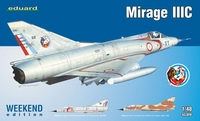 Eduard Kit 1:48 Weekend - Mirage IIIC (Plastic Model Kit) - Cover