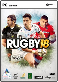Rugby 18 (PC) - Cover