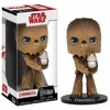 Funko Pop! - Funko Wacky Wobblers New Edition Star Wars Episode 8 The Last Jedi - Chewbacca With Porg Bobble Head Action Figure 15cm