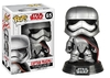 Funko POP! Star Wars - Star Wars Bobble Head: Episode 8 The Last Jedi: Captain Phasma  10cm