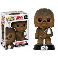 Funko Pop! - Funko POP! Star Wars Episode 8 The Last Jedi - Chewbacca with Porg Bobble Head 10cm - Cover