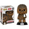 Funko Pop! - Funko POP! Star Wars Episode 8 The Last Jedi - Chewbacca with Porg Bobble Head 10cm Cover