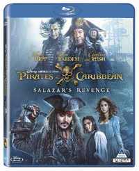 Pirates of the Caribbean 5: Salazar's Revenge (Blu-ray) - Cover
