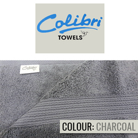 Colibri Towelling - Imperial Bath Towel (Charcoal Grey) - Cover