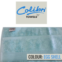 Colibri Towelling - Imperial Hand Towel - Egg Shell (Pack of 4) - Cover