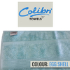 Colibri Towelling - Imperial Bath Towel - Egg Shell (Pack of 2)