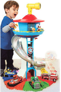 Paw Patrol - Lifesized Lookout Tower (Exclusive Vehicle and Rotating Periscope Included)