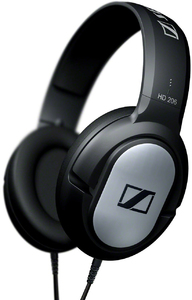 Sennheiser - HD 206 Closed Back Headphones - Cover