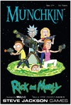 Munchkin - Rick & Morty (Card Game) Cover