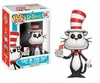 Funko POP! Books - Dr. Seuss - Cat In The Hat Flocked With fish bowl Vinyl Figure 10cm limited