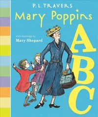 Mary Poppins ABC - P. L. Travers (Hardcover) - Cover