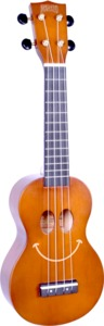 Mahalo U-SMILE BR U-Smile Series Soprano Ukulele (Brown) - Cover