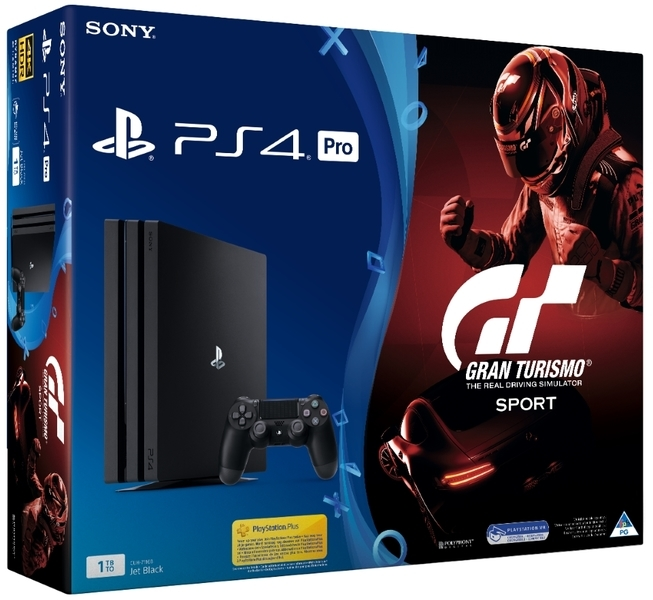 sony playstation 4 pro 1tb console gran turismo sport. Black Bedroom Furniture Sets. Home Design Ideas