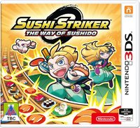 Sushi Striker: The Way of Sushido (3DS) - Cover