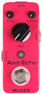 Mooer Ana Echo Analog Delay Electric Guitar Pedal - Cover