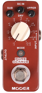 Mooer Pure Octave Micro Polyphonic Electric Guitar Octave Effects Pedal - Cover