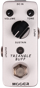 Mooer Triangle Buff Micro Fuzz Electric Guitar Pedal - Cover
