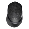 Logitech M330 RF Wireless Mechanical 1000DPI Right-hand Mouse - Black