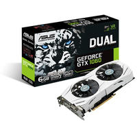 ASUS Dual Series GeForce GTX 1060 6GB GDDR5 Graphics Card