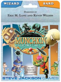 Munchkin Collectible Card Game - Wizard and Bard Starter (Card Game) - Cover