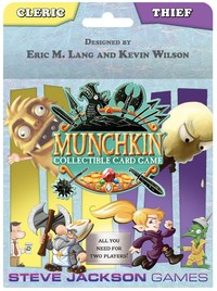 Munchkin Collectible Card Game - Cleric and Thief Starter (Card Game) - Cover