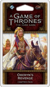 A Game of Thrones: The Card Game (Second Edition) - Oberyn's Revenge (Card Game) - Cover