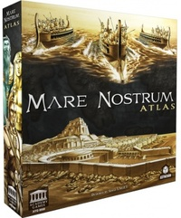 Mare Nostrum: Atlas Expansion (Board Game) - Cover