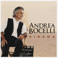Andrea Bocelli - Cinema (CD) - Cover