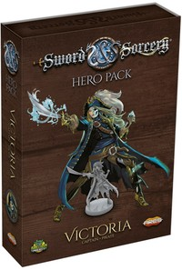 Sword & Sorcery - Victoria Hero Pack (Miniatures) - Cover