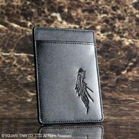 Final Fantasy Advent Children - Sephiroth One Wing Leather Business Card Case