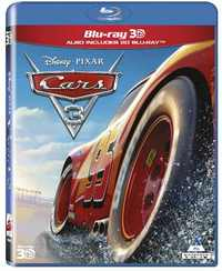 Cars 3 (3D Blu-ray) - Cover