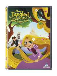 Tangled: Before Ever After (DVD) - Cover