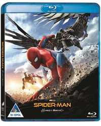 Spider-Man: Homecoming (Blu-ray) - Cover
