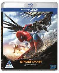 Spider-Man: Homecoming (3D Blu-ray) - Cover