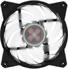 Cooler Master - Masterfan RGB Controller 3x Master Fan Pro 120mm Air Balance Chassis Cooling Fan - RGB LED