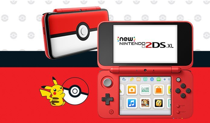 New nintendo 2ds xl console pokeball electronics - Can you play 3ds games on 2ds console ...