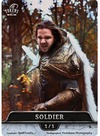 Tokens For MTG - Cosplay Token Soldier 1/1 (10 pcs)