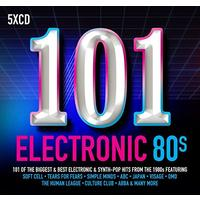 Various Artist - 101 Electronic 80s (CD)