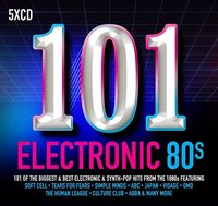 101 Electronic 80s / Various (CD) - Cover