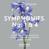 Beethoven / London Symphony Orch - Symphonies 1 & 4 (Super-Audio CD) - Cover