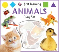 First Learning Animals Play Set - Roger Priddy (Hardcover) - Cover
