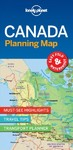 Lonely Planet Canada Planning Map - Lonely Planet Publications (Paperback)