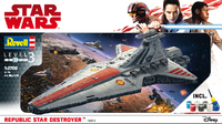 Revell - 1/2700 - Star Wars Republic Star Destroyer (Plastic Model Kit) - Cover