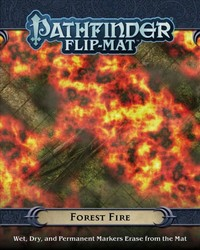 Pathfinder - Flip-mat: Forest Fire (Role Playing Game) - Cover