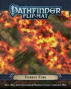 Pathfinder - Flip-mat: Forest Fire (Role Playing Game)