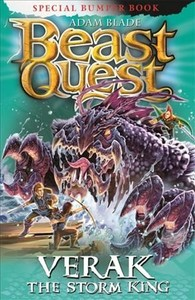 Beast Quest: Verak the Storm King - Adam Blade (Paperback) - Cover